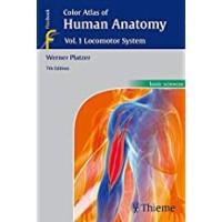 COLOR ATLAS OF HUMAN ANATOMY VOL.1  LOCOMOTOR SYSTEM