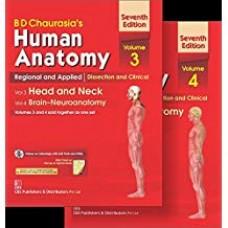 CHAURASIA HUMAN ANATOMY VOL.3 & 4: HEAD & NECK