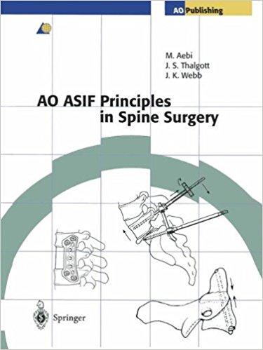 Ao Asif Principles In Spine Surgery          ...