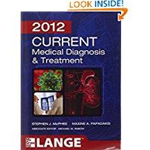 2012 Current Medical Diagnosis & Treatment (n...