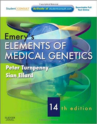 Emerys Elements Of Medical    Genetics