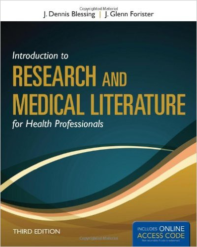 Introduction To Research And Medical Literatu...