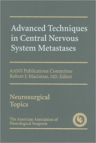 Advanced Techniques In Central Nervous System...