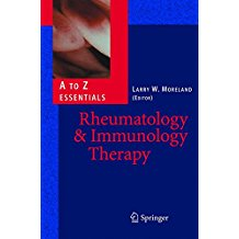 Rheumatology & Immunology    Therapy A To Z E...