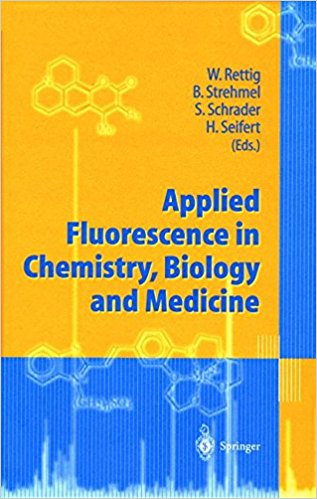 Applied Fluorescence In Chemistry,  Biology A...