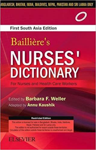 Baillieres Nurses Dictionary First    South A...