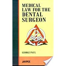 Clinical Science Law For The Dental Surgeons