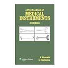 A First Handbook Of Medical     Instruments  ...
